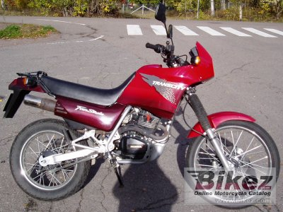 1998 Honda NX 125 TC Trans City photo