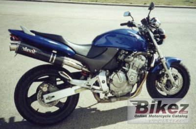 1998 Honda Cb 600 F Hornet Specifications And Pictures