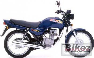 1998 honda cg 125 specifications and pictures. Black Bedroom Furniture Sets. Home Design Ideas