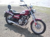 1999 Honda CA 125 Rebel