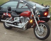 2000 Honda VT 1100 C3 Shadow