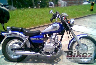 2000 honda ca rebel 125 specifications and pictures. Black Bedroom Furniture Sets. Home Design Ideas