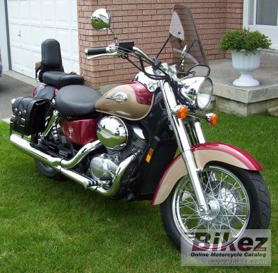 2000 Honda Vt 750 C2 Shadow Specifications And Pictures
