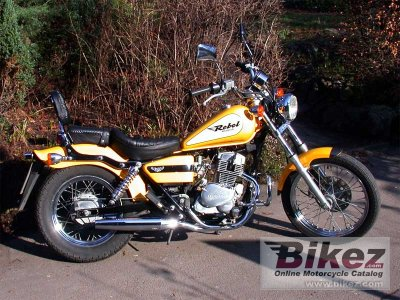 2001 honda ca 125 rebel specifications and pictures. Black Bedroom Furniture Sets. Home Design Ideas