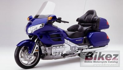 2002 Honda GL 1800 Gold Wing photo