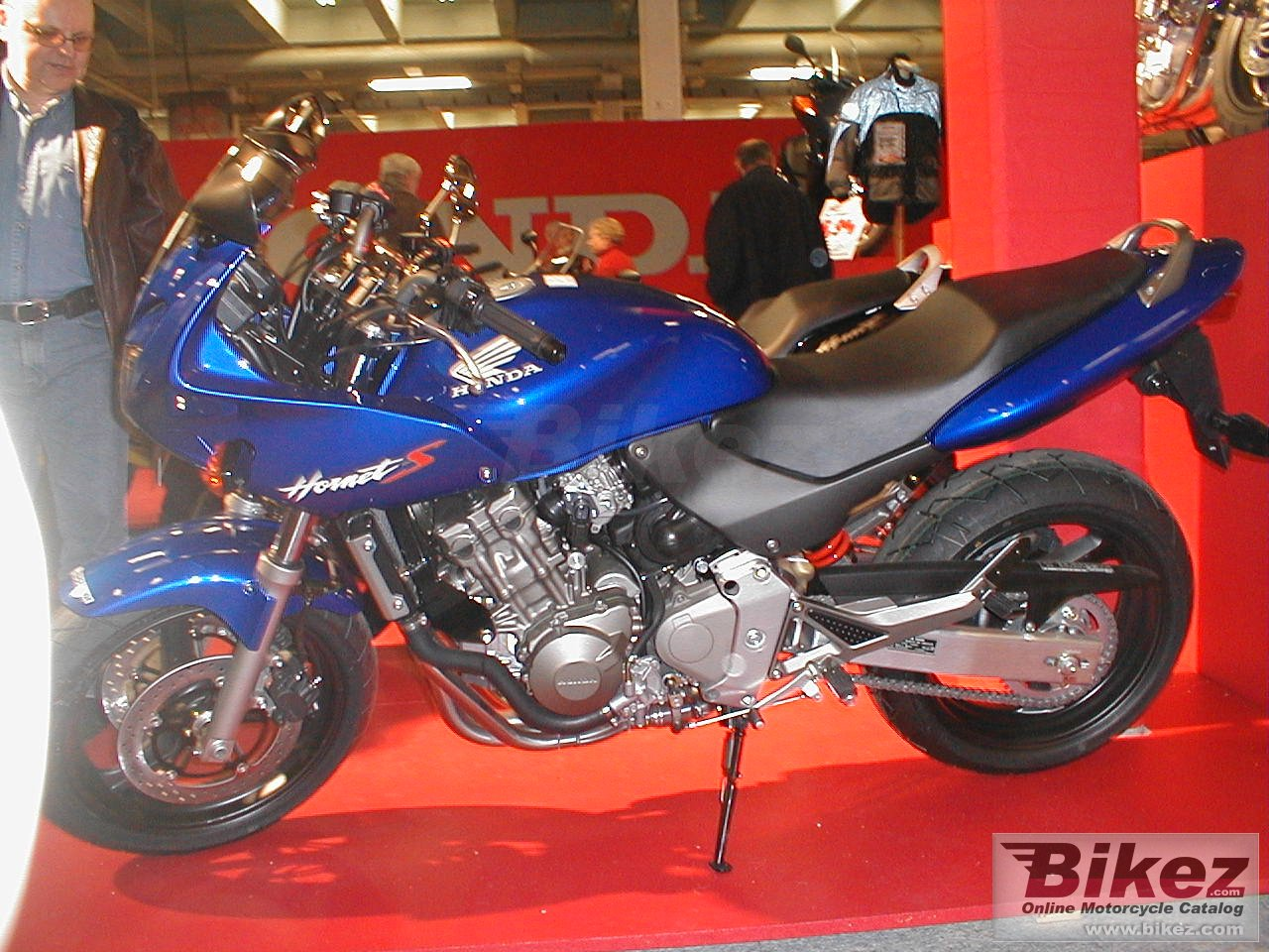 Big Harald Holm cb 600 s hornet-s picture and wallpaper from Bikez.com
