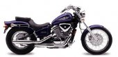 2002 Honda VT 600 CD Shadow VLX Deluxe