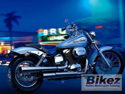 2002 Honda Shadow Slasher 400 photo