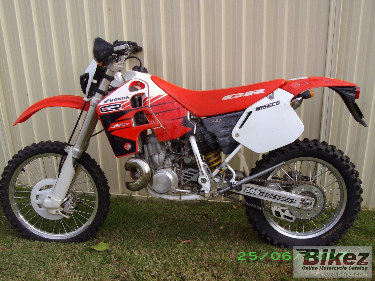 Big  cr 500 e picture and wallpaper from Bikez.com