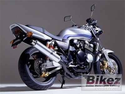 2002 Honda CB 400 Super Four specifications and pictures
