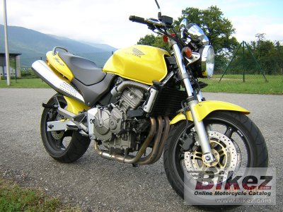 2002 honda cb 600 f hornet specifications and pictures. Black Bedroom Furniture Sets. Home Design Ideas