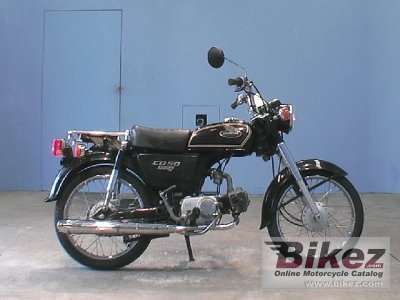 2002 Honda CD 50 Benly