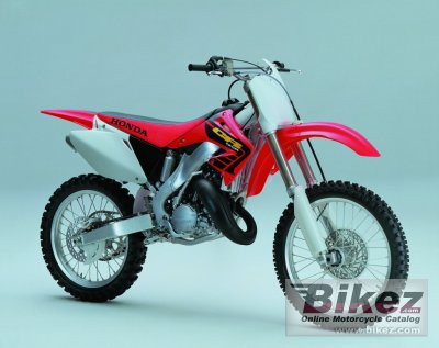 2002 honda cr 125 r specifications and pictures rh bikez com Honda CR 500 2004 Honda CR 125