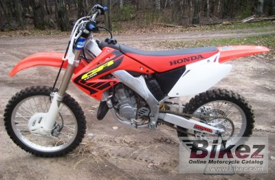 2002 Honda CR 125 specifications and pictures