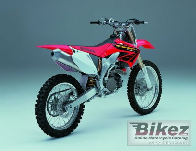 2002 Honda CRF 450 R specifications and pictures