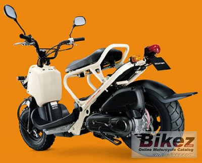 2002 Honda Zoomer specifications and pictures