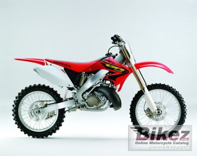 2003 Cr250 Seat Height