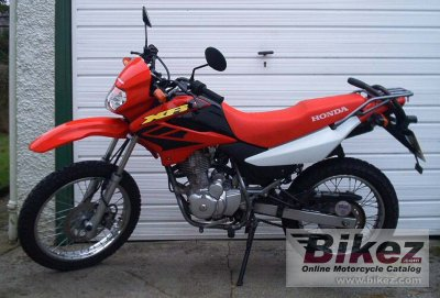 2003 honda xr 125 l specifications and pictures. Black Bedroom Furniture Sets. Home Design Ideas