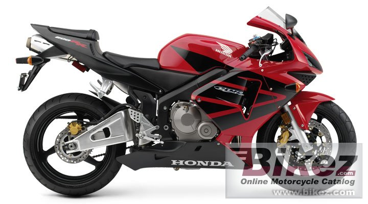Big Honda cbr 600 rr picture and wallpaper from Bikez.com