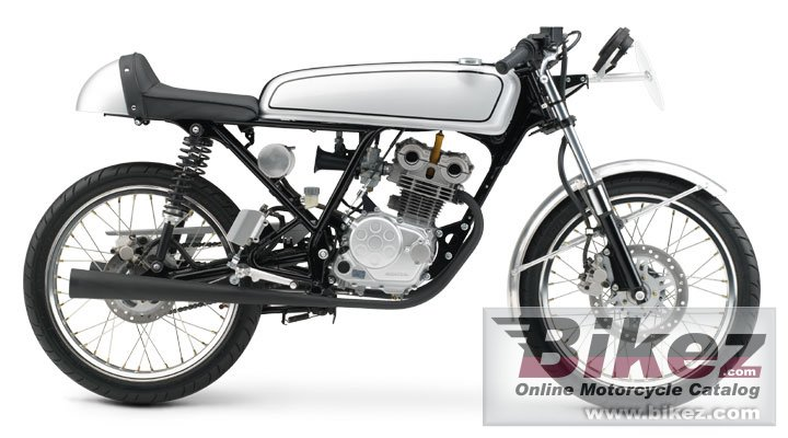 Big Honda dream 50 r picture and wallpaper from Bikez.com