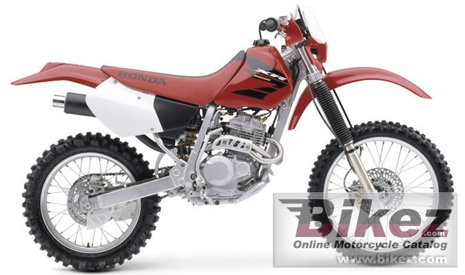 Big Honda xr 250 r picture and wallpaper from Bikez.com