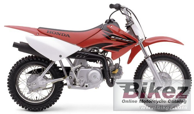 Big Honda crf 70 f picture and wallpaper from Bikez.com