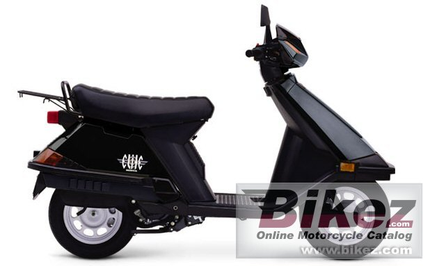 Big Honda elite 80 picture and wallpaper from Bikez.com