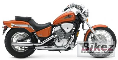 2005 Honda Shadow VTX Deluxe photo