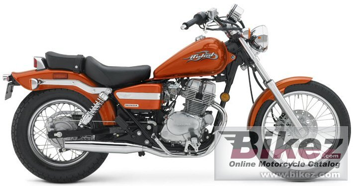 Big Honda cmx 250 rebel picture and wallpaper from Bikez.com