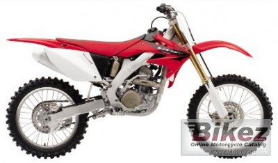 2005 Honda Crf 250 R Specifications And Pictures