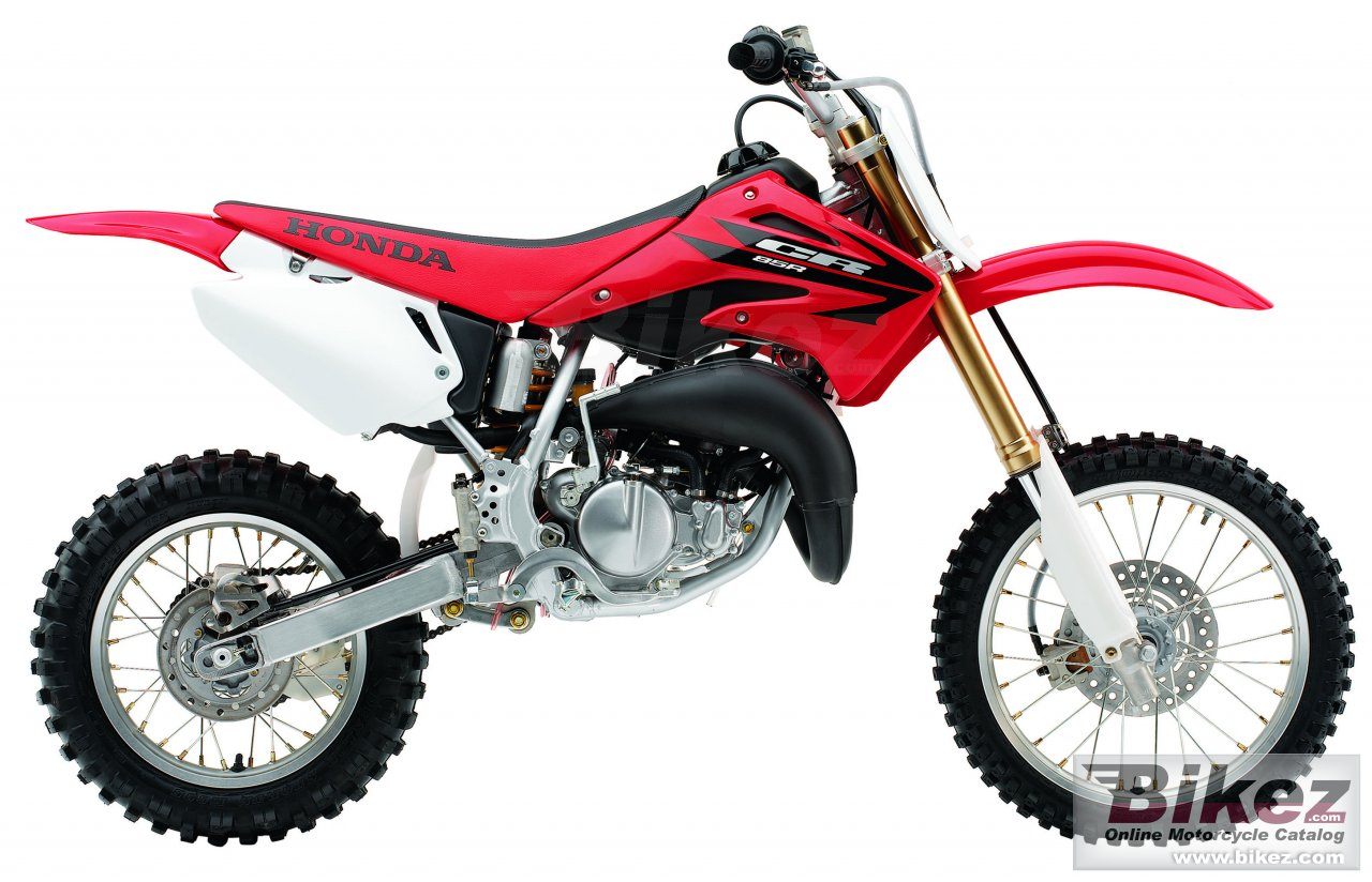 Big Honda cr 85 r picture and wallpaper from Bikez.com