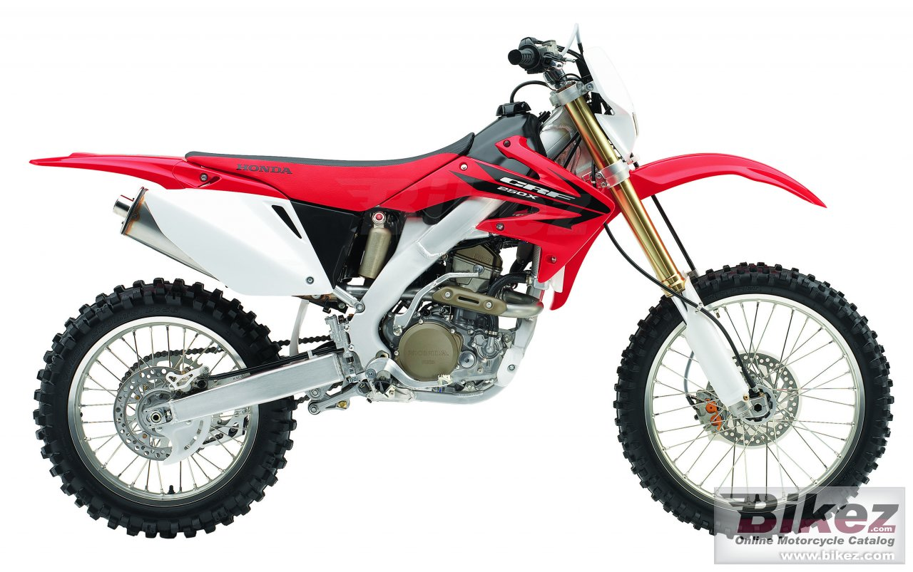 Big Honda crf 250 x picture and wallpaper from Bikez.com