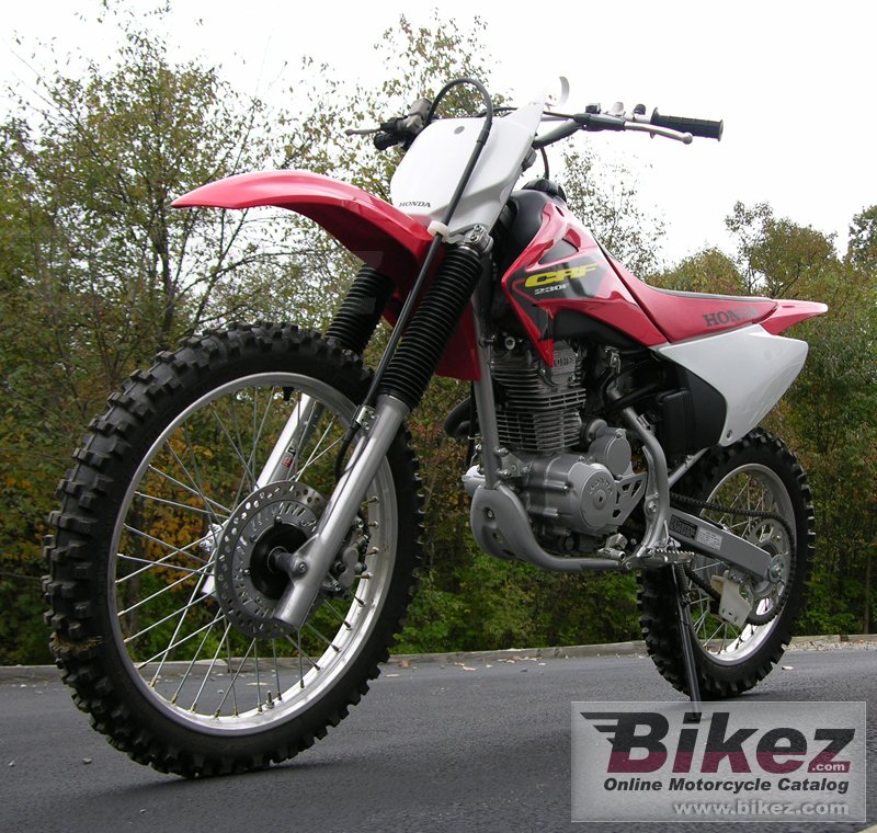 Big  crf 230 f picture and wallpaper from Bikez.com