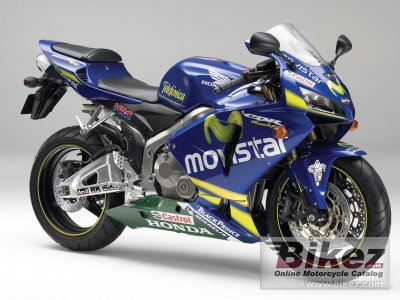 2006 Honda CBR 600 RR Movistar photo