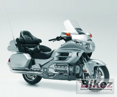 2006 Honda Gold Wing Audio Comfort