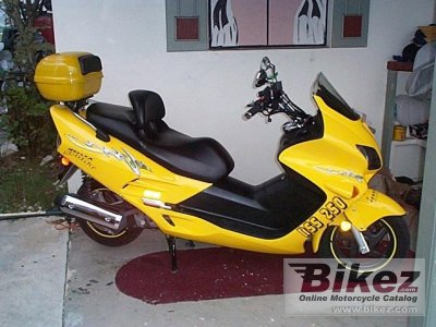 2006 Honda Reflex specifications and pictures