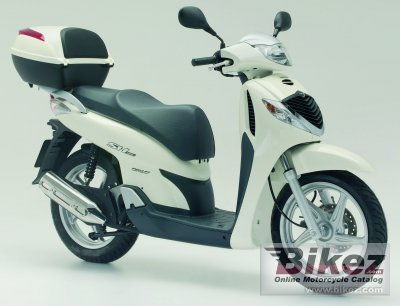 2006 honda sh 125i specifications and pictures. Black Bedroom Furniture Sets. Home Design Ideas