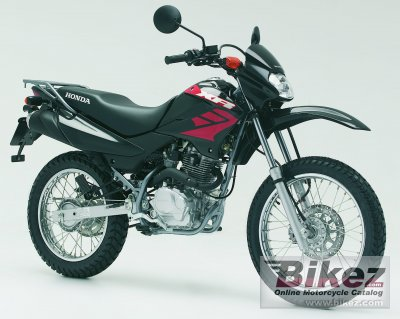 2006 honda xr 125 l specifications and pictures. Black Bedroom Furniture Sets. Home Design Ideas