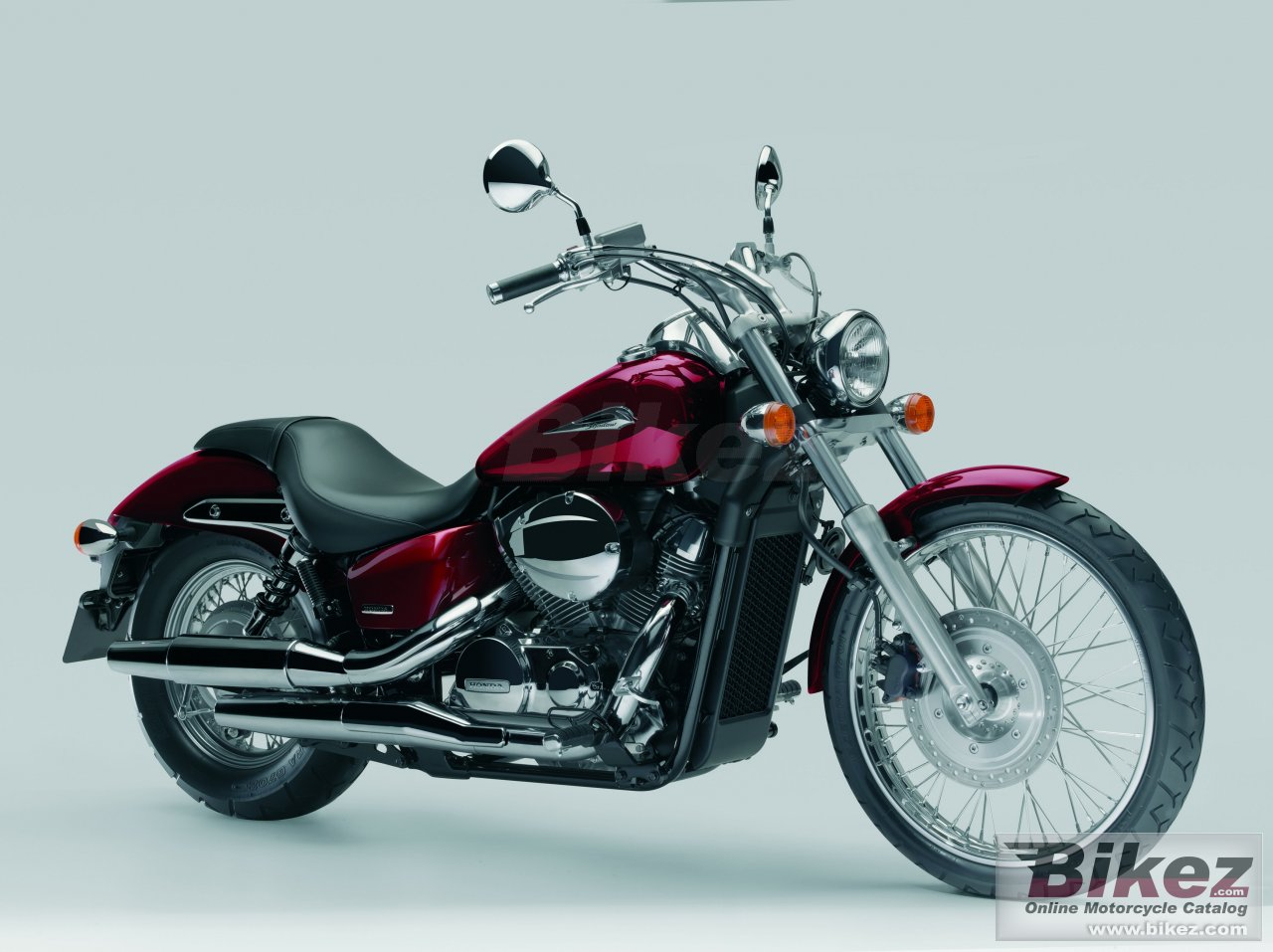 Big Honda shadow spirit 750 dc (vt 750 dc) picture and wallpaper from Bikez.com