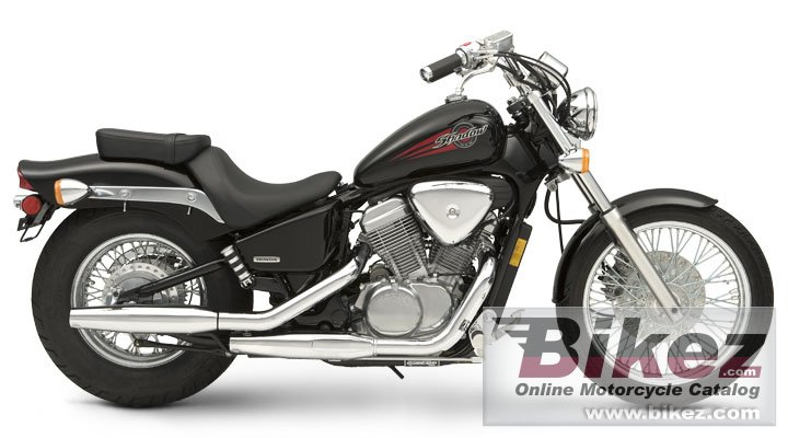 Big Honda shadow vlx picture and wallpaper from Bikez.com