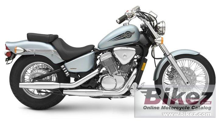 Big Honda shadow vlx deluxe picture and wallpaper from Bikez.com