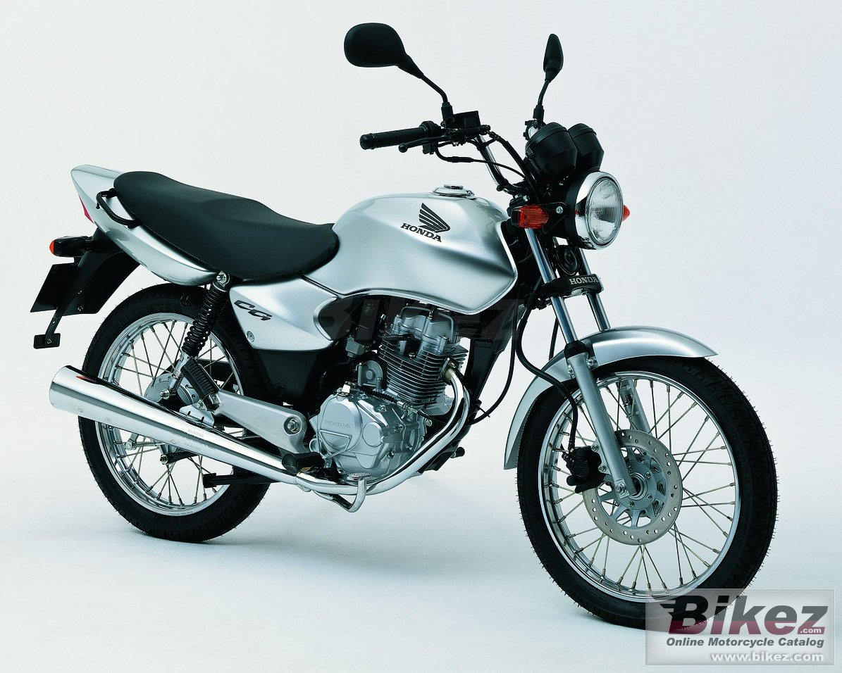 Big Honda cg 125 picture and wallpaper from Bikez.com