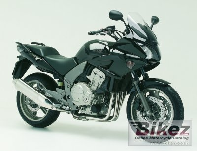 2007 honda cbf 1000 f abs specifications and pictures. Black Bedroom Furniture Sets. Home Design Ideas