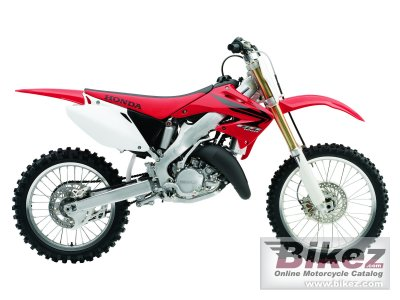 2007 honda cr 125 r specifications and pictures