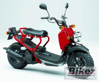 2007 Honda Zoomer specifications and pictures