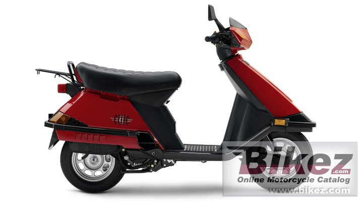 Big Honda elite 125 picture and wallpaper from Bikez.com