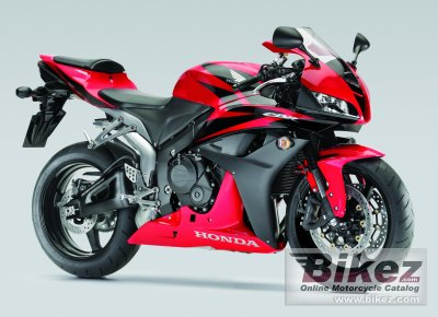 2008 Honda CBR 600 RR specifications and pictures