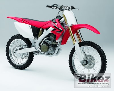 2008 Honda CRF 250 R specifications and pictures