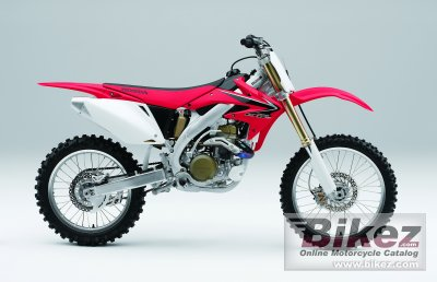 2008 Honda CRF 450 R specifications and pictures