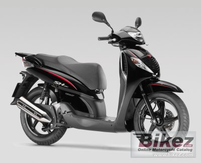 2008 honda sh 125i sporty specifications and pictures. Black Bedroom Furniture Sets. Home Design Ideas